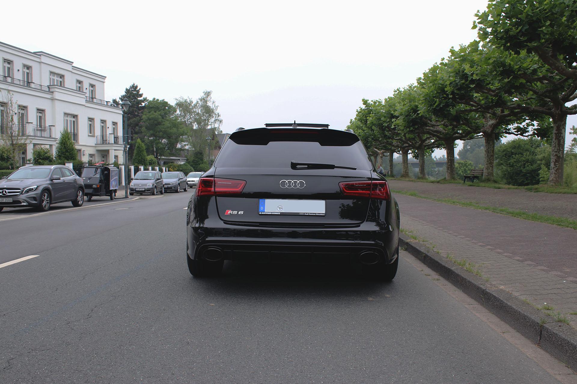 Audi RS6 Heckansicht