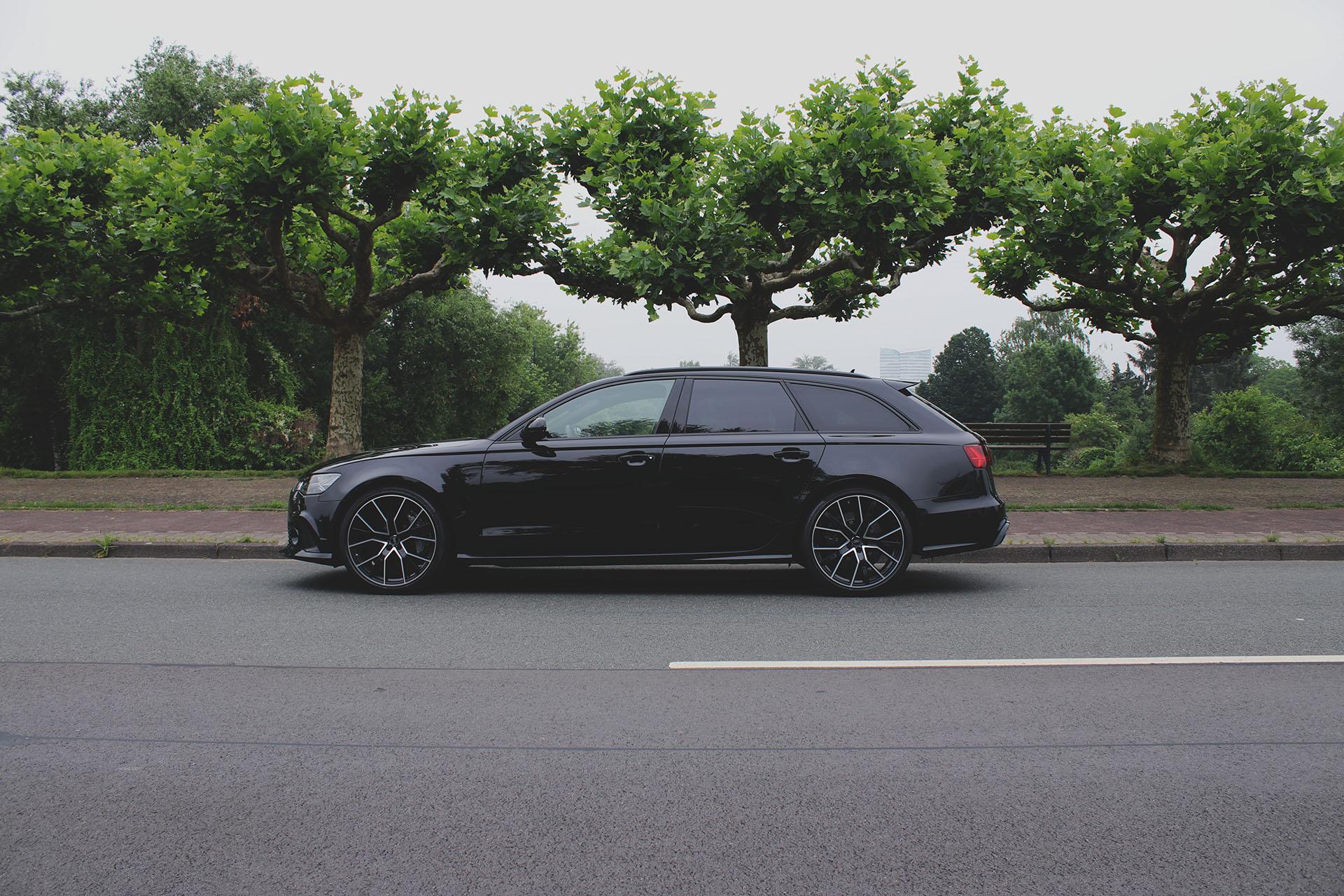 Audi RS6 Seitenansicht