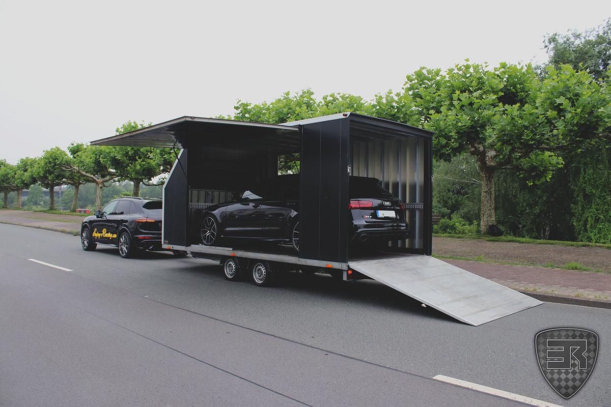 Geschlossener Fahrzeugtransport Audi RS6 5